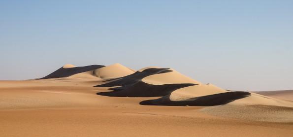 foto del deserto scattata da John C.Smith